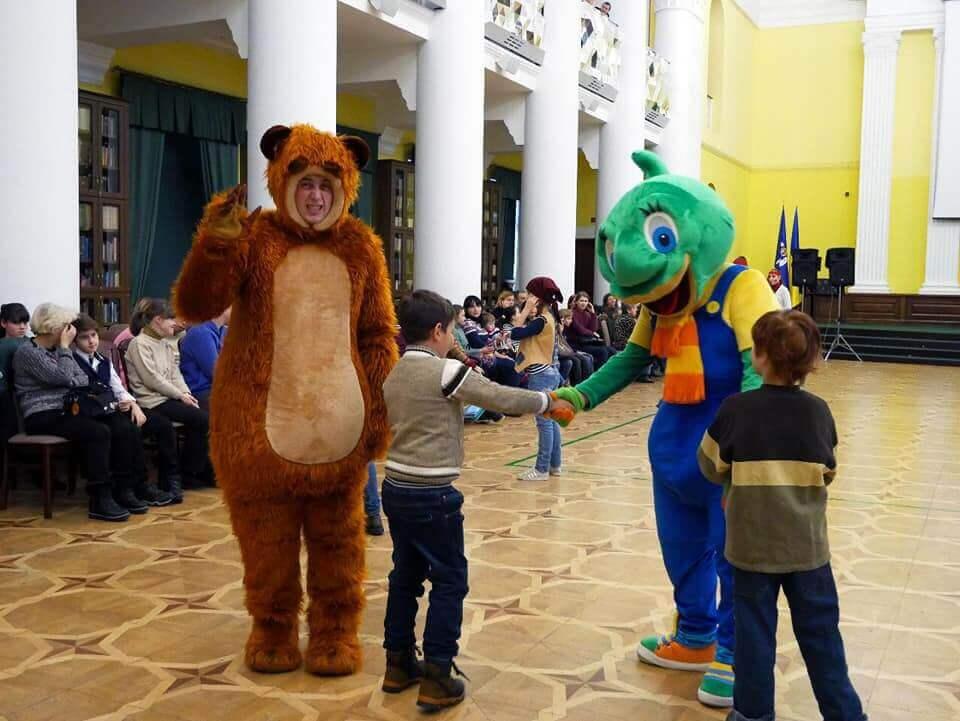 Fabulous event for children in Kiev