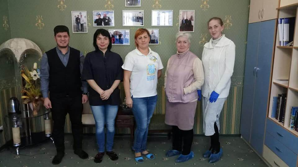Zaporizhzhya MAA rehabilitation center was visited by guests