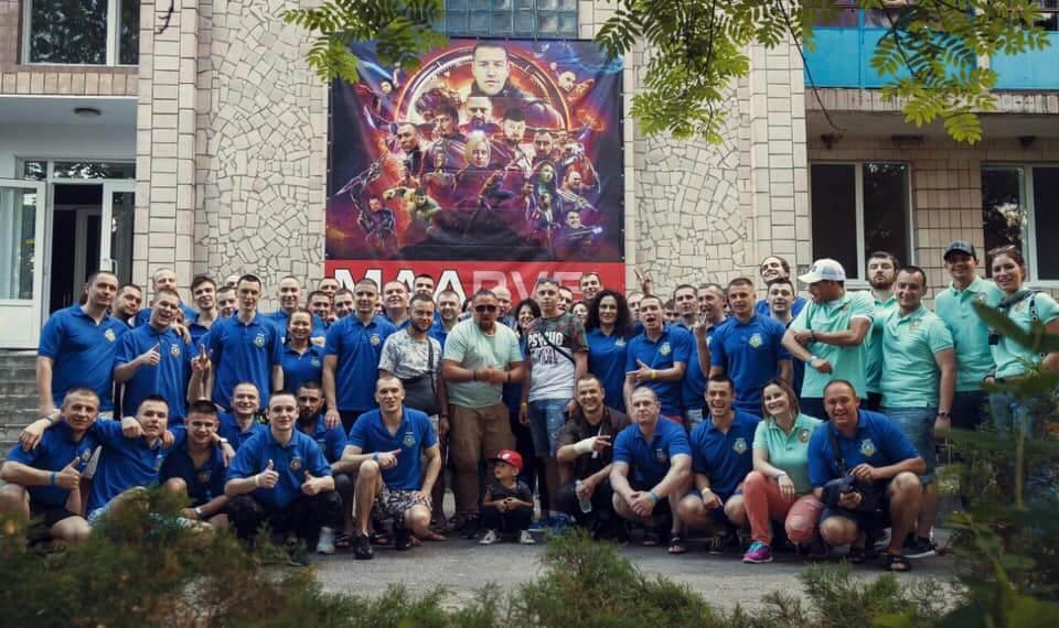 Спортивно-терапевтичний табір ММА об'єднує людей