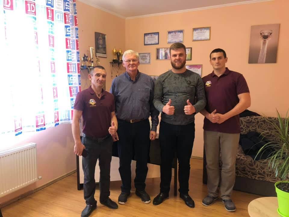 Наш центр в Виннице посетил известный врач-нарколог