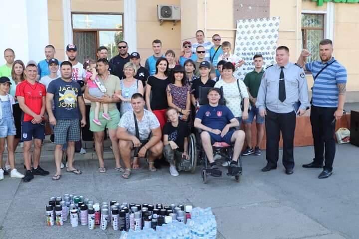 Всеукраинская социальная акция по закрашиванию надписей с нарко-адресам