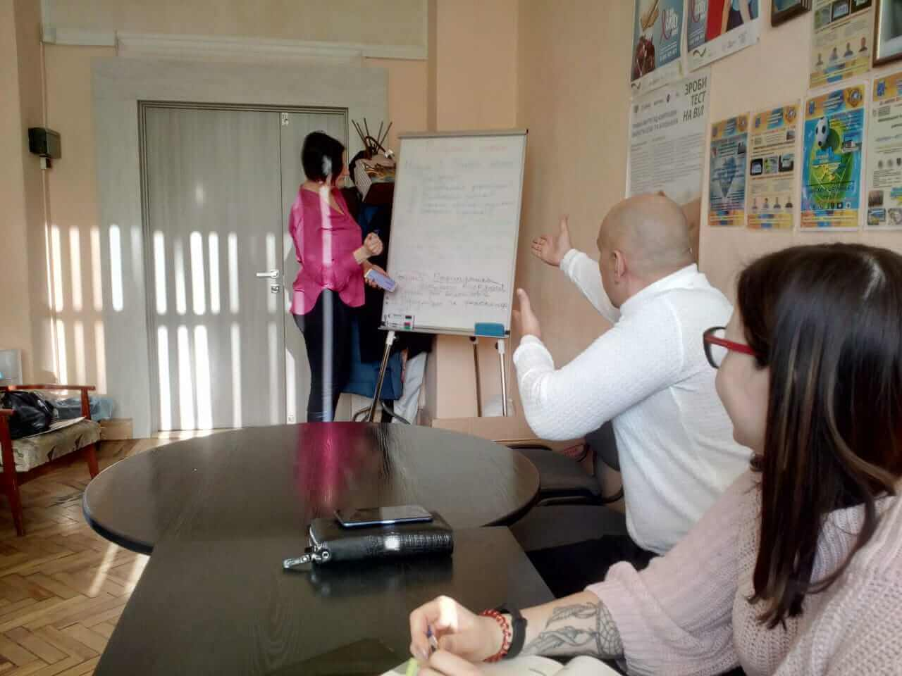 "A meeting of the team of the project ""Program-training"" of civil legal resocialization """