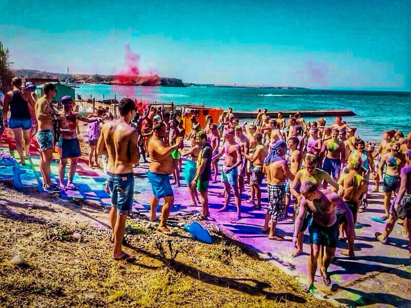 Summer, sobriety, beach!